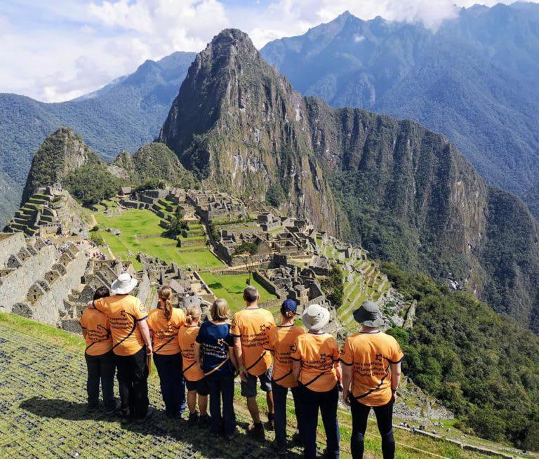 Peru trekkers, Southampton Hospitals Charity