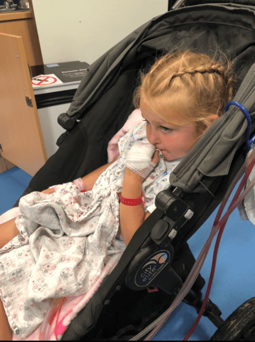 Abigail in Southampton Hospitals Charity