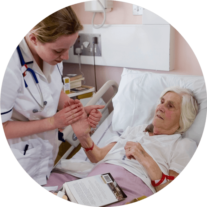 Elderly Care at Southampton Hospitals Charity