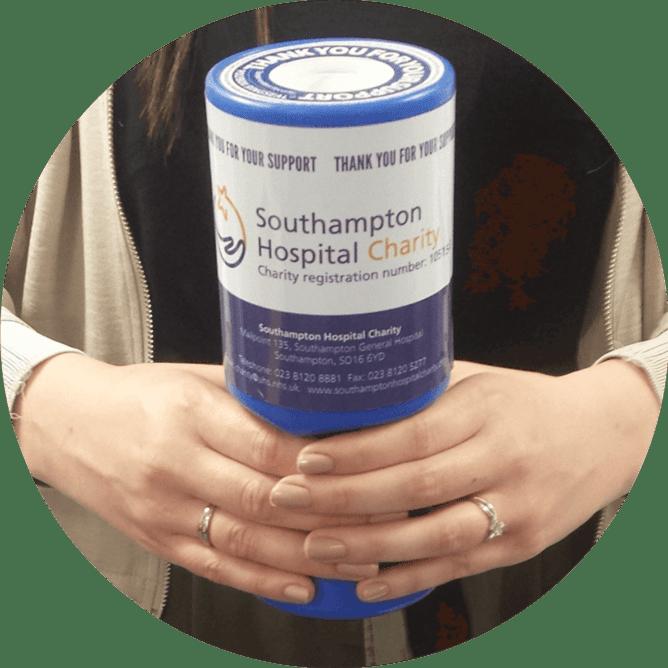 Collection Tin Coordinator at Southampton Hospitals Charity