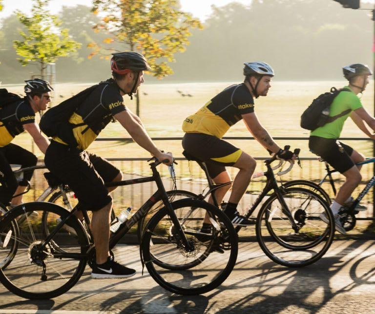 London to Brington Cycle Event at Southampton Hospitals Charity