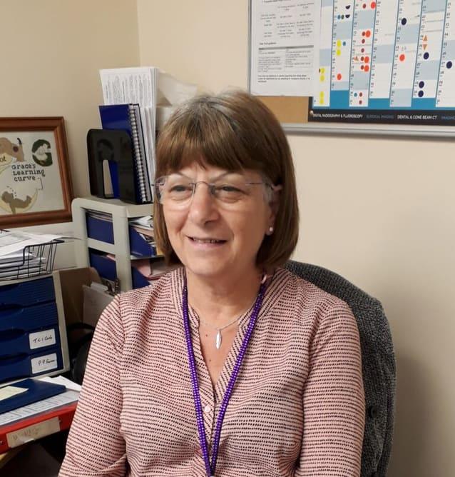 Grace Cesaro, Radiology Department Team Leader, Southamtpton Hospitals Charity