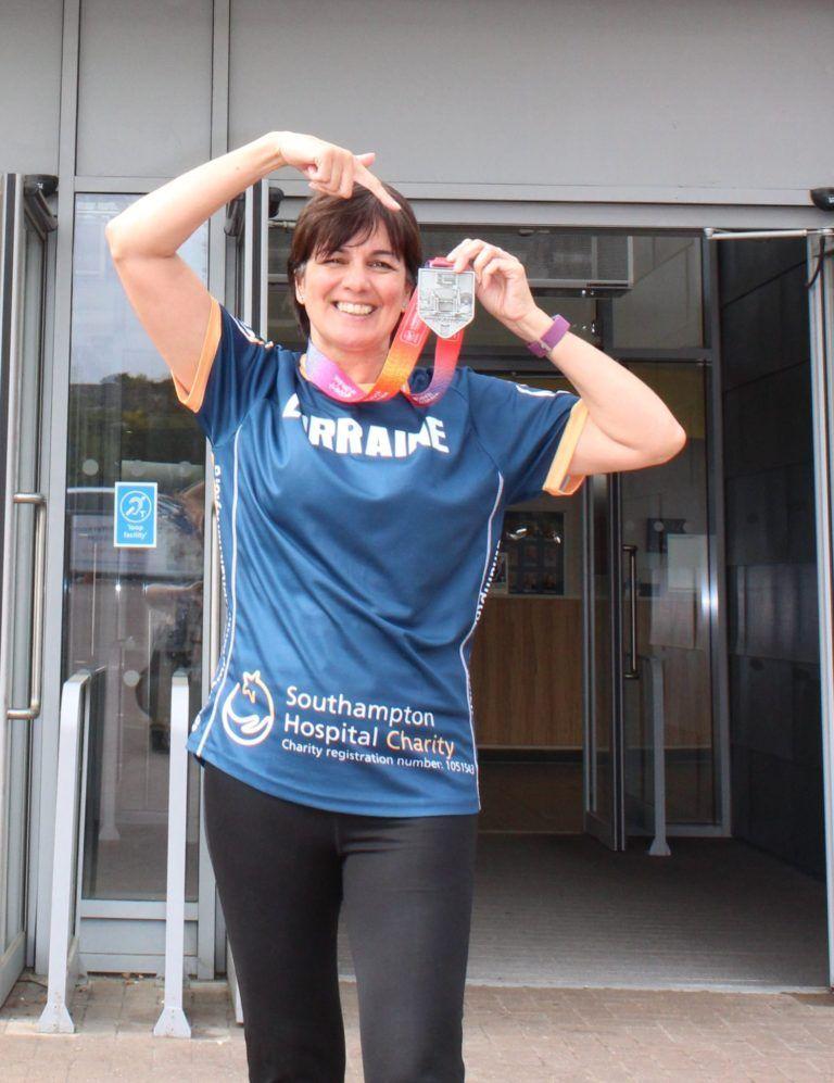 Lorraine's London marathon challenge