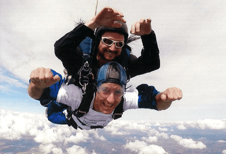 Tandem Skydiving Raising Money for Southampton Hospitals Charity