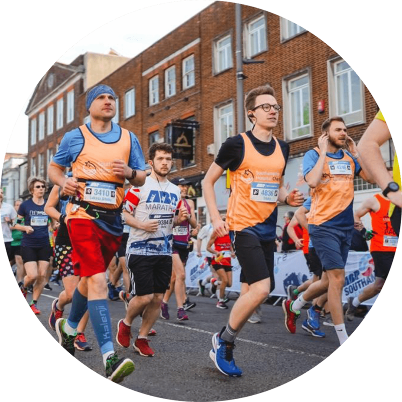 Running for Southampton Hospital Charity